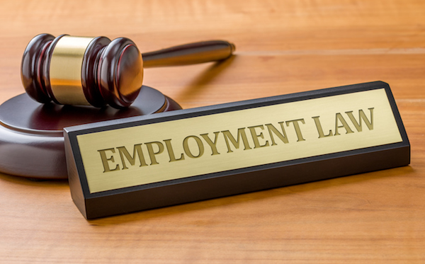 Legal update in regards to Employment Law